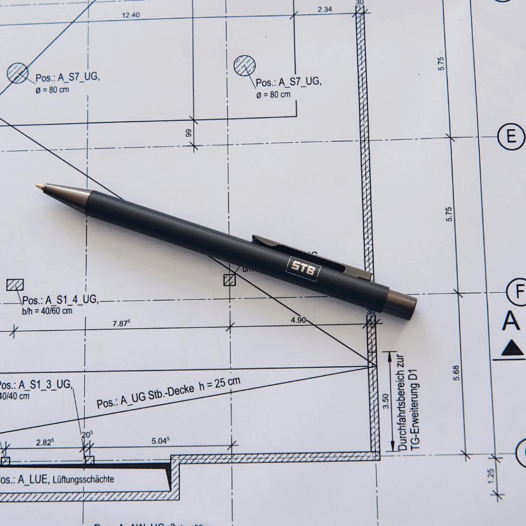 Gebrandeter STB Stift